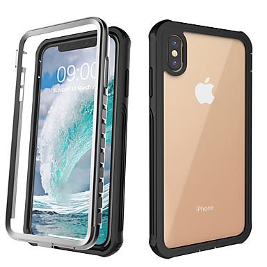 voordelige iPhone X hoesjes-hoesje voor Apple toepasbaar op xs max. drie anti-mobiele telefoonhoesje xr beschermhoes x onbreekbaar waterdicht en schokbestendig 6/7/8/6 plus / 7 plus / 8 plus / 11/11 pro / 11 pro max beschermhoes