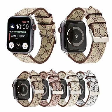 billige Apple Watch urremme-mode ægte læder armbåndsurrem til apple watch iwatch serie 4 3 2 1