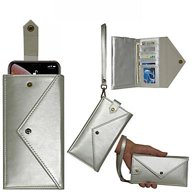 voordelige Galaxy Note 5 Hoesjes / covers-samsung galaxy gebruikt in note10 / note10 plus portemonnee type plug-in kaart note8 / note9 all-inclusive onbreekbaar note6 / note7 envelop flip telefoon holster note5 / note5 edge met lanyard
