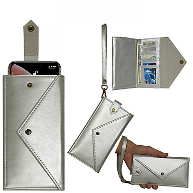 voordelige Huawei Mate hoesjes / covers-Huawei voor p30 / p30 pro / p30 lite portemonnee kaart p20 / p20 pro / p20 lite all-inclusive mate20 / mate20 pro / mate20 lite envelop flip telefoonhoes mate10 / mate10 pro / mate10 lite met lanyard