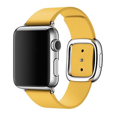 voordelige Smartwatch-accessoires-Horlogeband voor Apple Watch Series 4/3/2/1 Apple Zakelijke band Echt leer Polsband