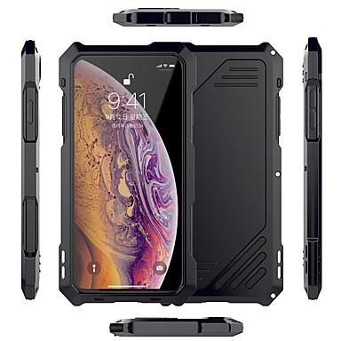 voordelige iPhone X hoesjes-hoesje voor Apple toepasbaar op xs max mobiele telefoon shell metalen drie-in-één frame xr waterdichte camera x / xs all-inclusive anti-val persoonlijkheid creatieve lens