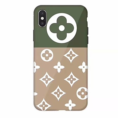 voordelige iPhone 7 hoesjes-hoesje Voor Apple iPhone 11 / iPhone 11 Pro / iPhone 11 Pro Max Schokbestendig / Ultradun / Patroon Achterkant Tegel TPU