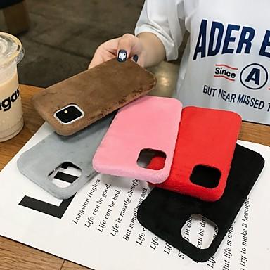 voordelige iPhone X hoesjes-hoesje Voor Apple iPhone 11 / iPhone 11 Pro / iPhone 11 Pro Max Schokbestendig / Stofbestendig / Waterbestendig Volledig hoesje Pluche TPU / Katoen
