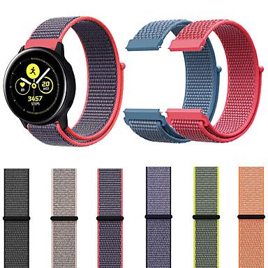 voordelige Smartwatch-accessoires-horlogeband voor versnelling s2 / samsung galaxy horloge 42mm / samsung galaxy actieve samsung galaxy sportband nylon polsband