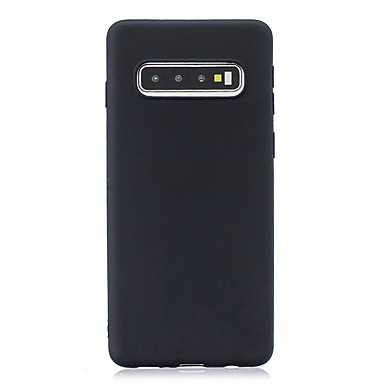 voordelige Galaxy S-serie hoesjes / covers-hoesje Voor Samsung Galaxy S9 / S9 Plus / S8 Plus Ultradun / Mat Achterkant Effen TPU
