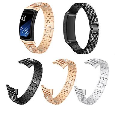 voordelige Smartwatch-accessoires-geschikt voor samsung fit2 riem / voor samsung gear fit2 sm - r360 set vijzelriem
