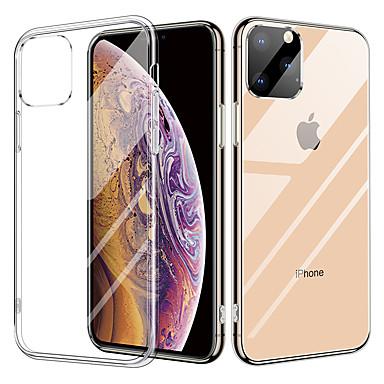 voordelige iPhone-hoesjes-kristal transparant glazen hoesje voor iphone 11 / iphone 11 pro tpu dubbele helderglazen druppel beschermhoes voor iphone x / xr / xs max