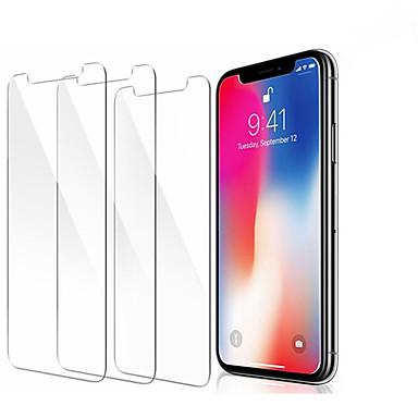 voordelige iPhone screenprotectors-3 stks screenprotector gehard glas voor iPhone 11 pro x xr xs max screen protector film telefoon
