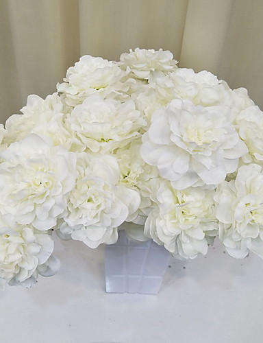 Χαμηλού Κόστους Διακόσμηση Σπιτιού-Ψεύτικα λουλούδια Κλαδί Κλασσικό Ποιμενικό Στυλ Αιώνια Λουλούδια Λουλούδι Δαπέδου