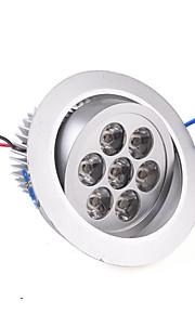 630 lm Taklys Innfelt lampe Innfelt retropassform 7 leds Høyeffekts-LED Varm hvit AC 85-265V