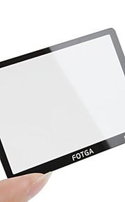 fotga® prémio LCD do painel de tela de vidro protetor para Canon EOS 550D
