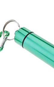 Durable Aluminum Alloy Medicine Bottle with Hook(Assorted Colors)