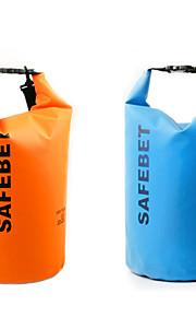 10 L Waterproof Dry Bag Yellow / Green / Black / Orange / Fuchsia