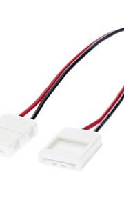 5050 SMD AWG22 LED-stripelys tosidet lampekobling (12V-24V)