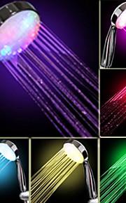 Vann foss strøm produksjon Gradvis fargeendringen LED hånddusj