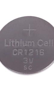 (5st) TTIANQIU CR1216 3V Lithium Cell Button batterij