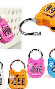 Luggage Lock Padlock Coded lock Luggage Accessory for Coded lock Luggage Accessory Plastic Canvas Metal