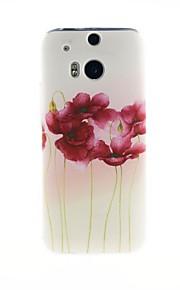 케이스 제품 HTC HTC케이스 패턴 뒷면 커버 꽃장식 소프트 TPU 용