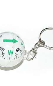 Ball Style Compass Keychain-Assorted Color