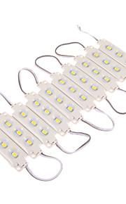 z®zdm 12w 30x5630smd 1100-1300lm 3000k varm hvit LED lys plast skall rektangel modul (DC 12V)