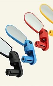 Bar End Bike Mirror / Espejo retrovisor Impermeable, Ajustable, Vuelo invertido de 360 grados Ciclismo / Bicicleta ABS Amarillo / Rojo /