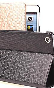 Case Kompatibilitás Apple Állvánnyal / Automatikus készenlét / ébresztés Héjtok Mértani formák PU bőr mert iPad 4/3/2
