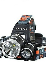 LS064 5000Lm 3 X CREE XM-L T6 LED Rechargeable Headlamp Headlight Torch Flashlight