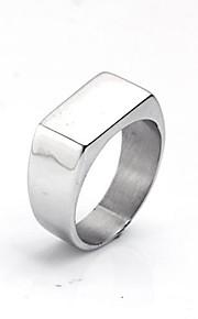 spersonalizowanych prezent męskie pierścień ze stali nierdzewnej grawerowane biżuteria
