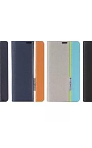 용 노키아 케이스 카드 홀더 / 스탠드 / 플립 케이스 풀 바디 케이스 단색 하드 인조 가죽 NokiaNokia Lumia 1020 / Nokia Lumia 930 / Nokia Lumia 630 / Nokia Lumia 530 / Nokia