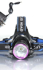LS131 Headlamps Headlight LED 2000 lm Mode Cree XM-L T6 with Charger Impact Resistant Rechargeable Waterproof Strike Bezel Emergency
