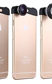 apexel 3에서 1 아이폰 6를 더한 180도 물고기 눈 렌즈 + 10 배 매크로 렌즈와 5 배 슈퍼 망원 렌즈 카메라 렌즈 키트