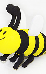 ZIQIAO EVA Foam Honeybee Style Car Decoration Antenna Ball(1PCS)