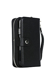 Case For Samsung Galaxy Samsung Galaxy Case Wallet Full Body Cases Solid Color PU Leather for S7 edge S7 S6 edge S6 S5 S4