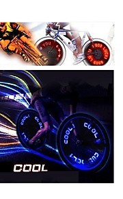 hjul lys LED - Cykling Farveskiftende AG10 90 Lumen Batteri Cykling Motorcykkel Kørsel