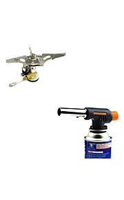 Camping Stove Lighter Sets Portable Multifunction ABS Stainless Steel Alloy for Outdoor