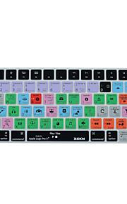 XSKN Logic Pro x 10,2 kortkommandot täcka silikonhölje för magiska tangentbord 2015 version, oss layout