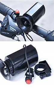 Elektrisk cykelhorn alarm Rekreativ Cykling / Cykling / Cykel / Cykel med fast gear ABS Sort - 1pcs