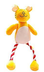 Kattelegetøj Hundelegetøj Kæledyrslegetøj Blødt Legetøj Pibe-Legetøj Tandrensende legetøj Knirke Plysset
