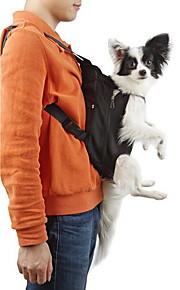 Cat Dog Carrier & Travel Backpack Front Backpack Pet Baskets Solid Portable Breathable Black Orange Red Blue Pink For Pets