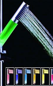 SDS-A13 fargerike ledet dusj dusj stang / hånddusj (abs galvanisering)