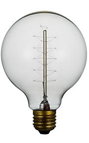 E27 40W G80 Around The Wire American Restaurant Ball Edison Retro Decorative Light Bulbs