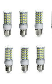 10pcs 10 W 850-950 lm E14 / G9 / GU10 Ampoules Maïs LED Tube 69 Perles LED SMD 5730 Imperméable / Décorative Blanc Chaud / Blanc Froid
