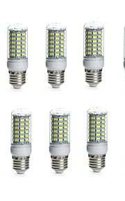 10pcs 10 W 850-950 lm E14 / G9 / GU10 LED-lampa Tub 69 LED-pärlor SMD 5730 Vattentät / Dekorativ Varmvit / Kallvit 220-240 V / 110-130 V