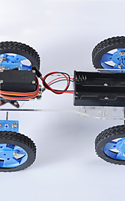 Crab Kingdom Freescale Racing Remote Control Car Upgrade Version of The Wide Wheel / Narrow Round Version of The DIY Assembly Materials Package Narrow
