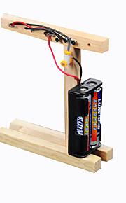 Crab Kingdom Teaching Assembly Model Technology Handmade Small Make Small Invention DIY Traffic Light Material Bag
