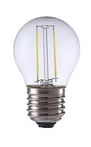 E26/E27 LED-glødepærer P45 2 leds COB Varm hvit Kjølig hvit 250lm 6500/2700K AC 220-240V
