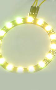 Smart Full-color LED RGB Ring Crab Kingdom WS2812 RGB Lamp Ring 5050 Development Board  16