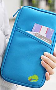 Reiselommebok Passholder og ID-holder Kredittkortlomme Passlomme Vanntett Bærbar Støvtett Multifunksjonell Reiseoppbevaring til Klær Tøy /
