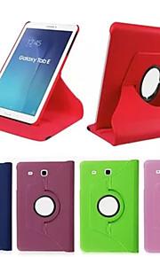 fodral Till Tab S 10.5 / Tab S 8.4 / Samsung Galaxy Samsung Galaxy-fodral med stativ / Lucka / 360-graders rotation Fodral Enfärgad PU